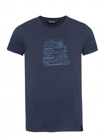 Lettering Bus T-Shirt Men