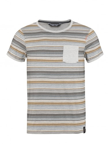 Chillaz Stripes Retro T-Shirt Men