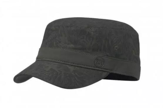 MILITARY CAP CHECKBOARD MOSS GREEN S/M
