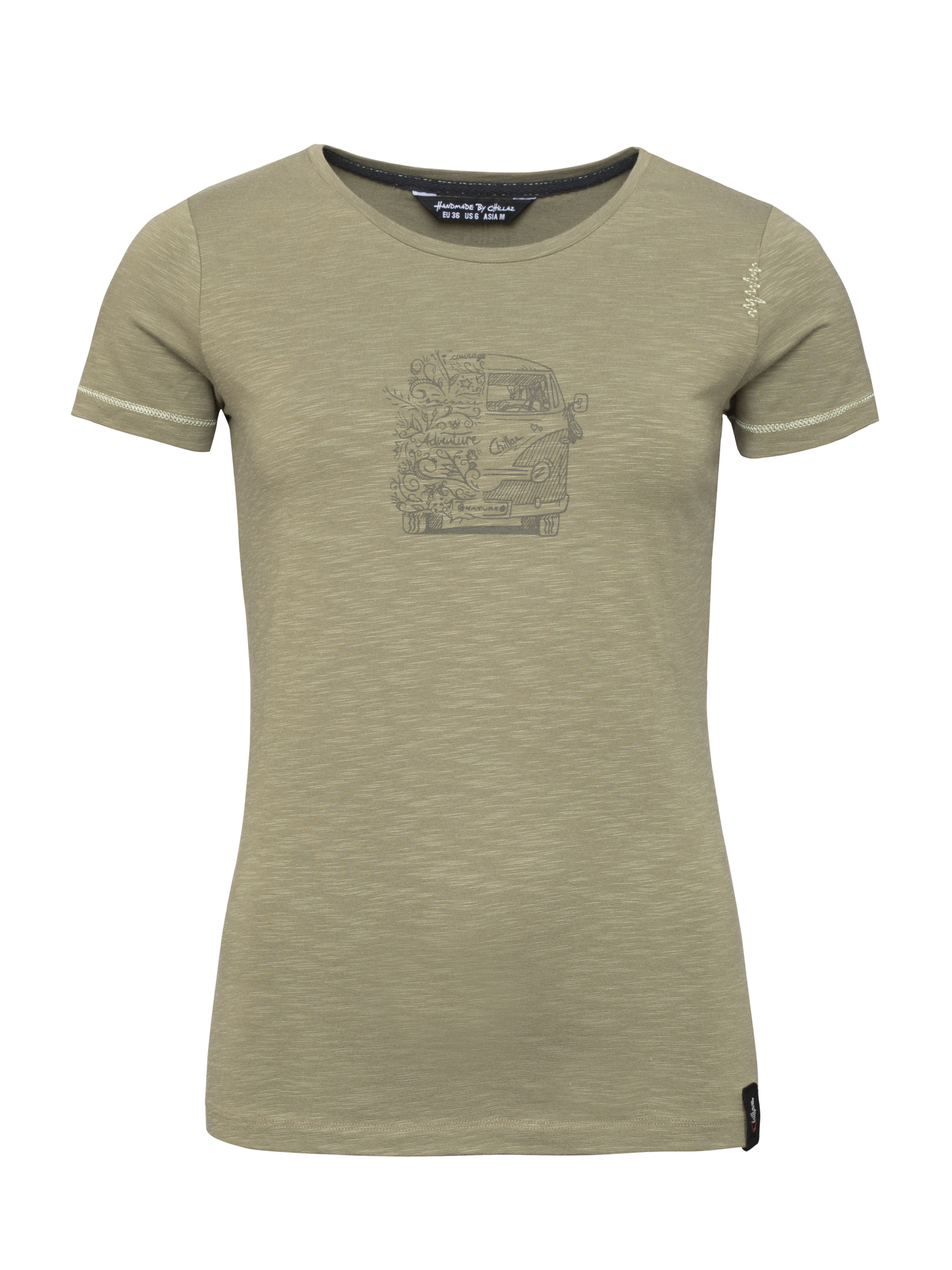 Gandia Lettering Bus T-Shirt Women L