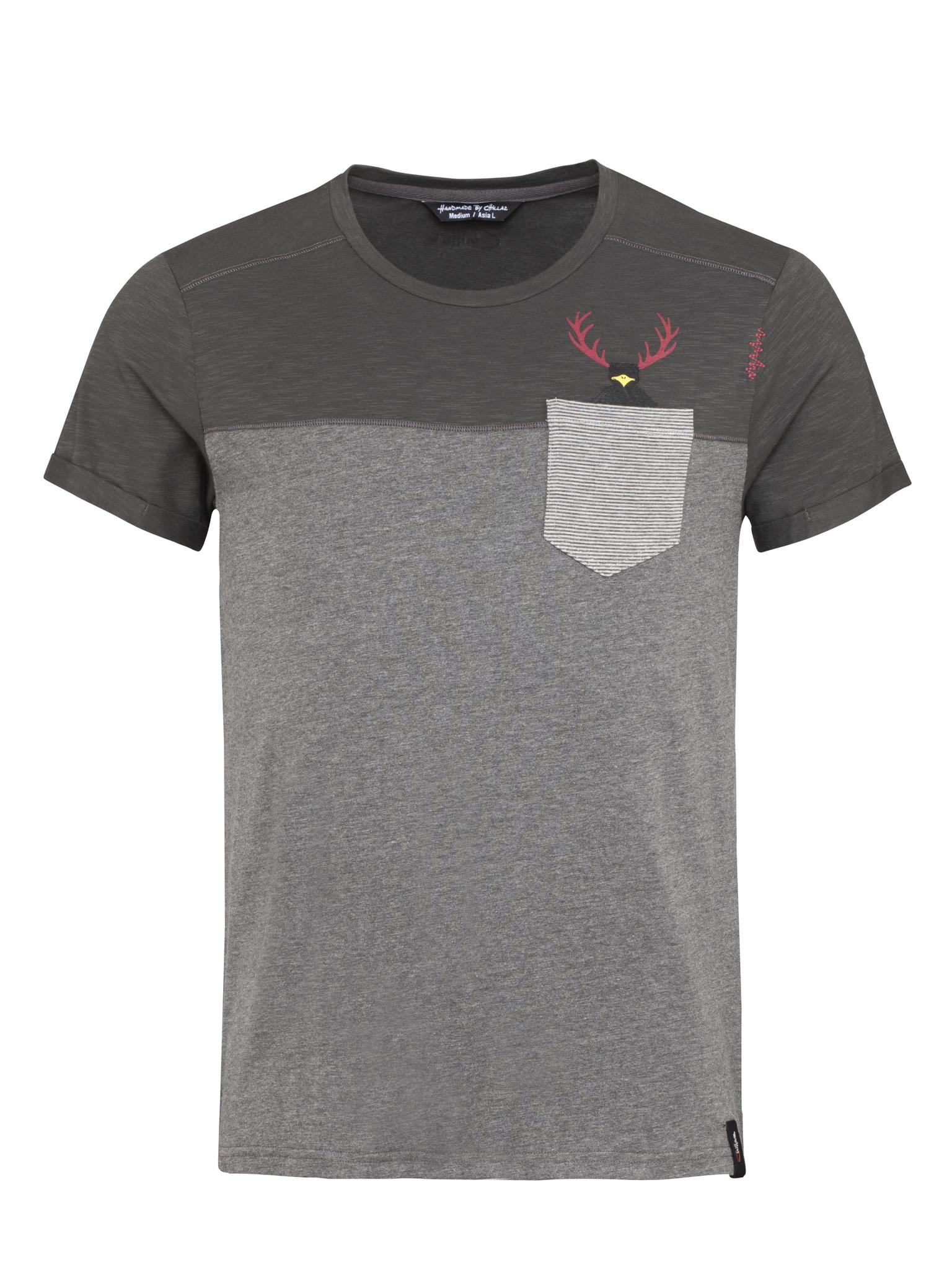 Street Hirschkrah T-Shirt Men S