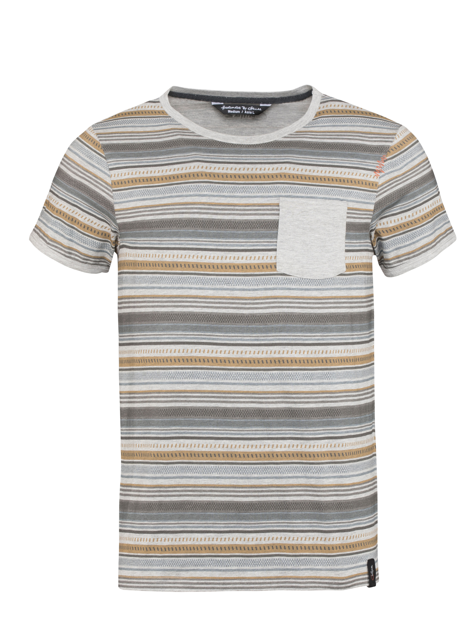 Stripes Retro T-Shirt Men L