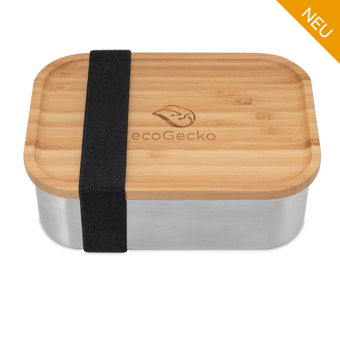Brotdose mit Bambusdeckel 800 ml